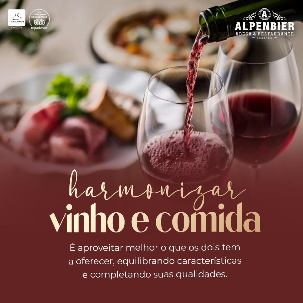 Harmonizar Vinho e Comida